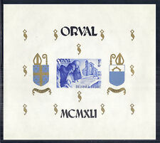 Belgium Orval SC B303-B304 Perf & Imperf Souvenir Sheets - Monks - MNH Fresh*