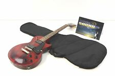 2017 Gibson Les Paul Studio Faded T Electric Guitar - Cherry Faded Gloss w/ Bag