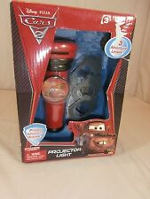 DISNEY PIXAR CARS 2 Projector Light With 3 Adventure Lenses Included
