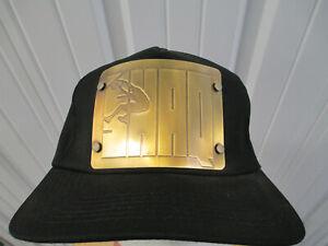 VINTAGE REEBOK PEPSI ORLANDO MAGIC SHAQUILLE O'NEAL LOGO METAL SNAPBACK HAT CAP