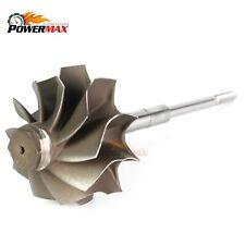 2003 Ford 6.0L GT3782VA Turbo Upgrade Turbine Wheel Shaft - 10 Blades Powermax