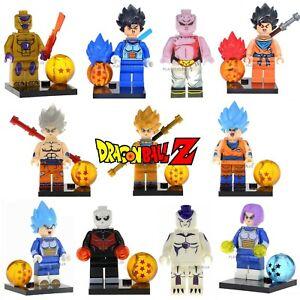 Dragon Ball Z Custom Lego Building Mini Figures DBZ Toys GOKU VEGETA FRIEZA
