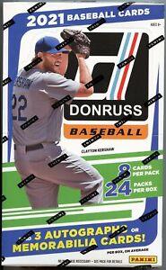 2021 Donruss Baseball Hobby Box
