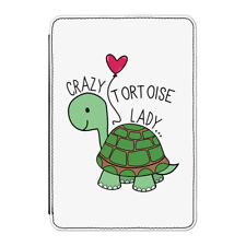 "Crazy Tortoise Lady Case Cover for Kindle 6"" E-reader - Funny"