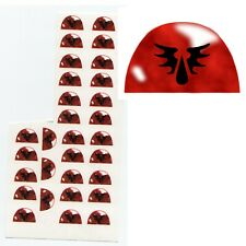 40K Style Insignia Decals - Blood Angels Shoulder