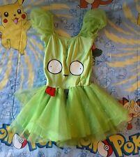 Invader Zim Gir Halloween Costume Dress Tutu Adult Womens Extra Small 2011