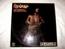 1973 Aust EMI release Mandingo The Primeval Rhythm of Life Q4.Two.400 LP Album