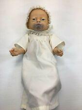 "Vintage 1988 19"" Emson Anatomically Correct Newborn Caucasian Girl Doll"