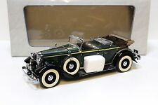 1:18 MOTOR CITY CLASSICS Lincoln KB 1932 open top Green New chez premium-MODELCAR
