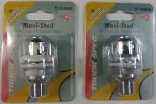 Lot of 2 Truckspec Ts-105Max Heavy Duty Chrome Plated Cb Radio Antenna Maxi Stud