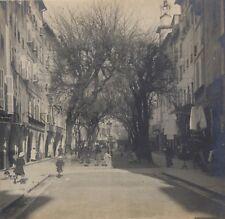 Grasse La Place du Marché France Stereo Vintage Argentique