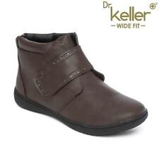 LADIES WIDE FIT BOOTS WOMENS CHELSEA ANKLE WINTER ANKLE SMART FORMAL SHOES SIZ
