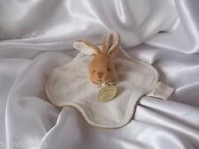Doudou lapin blanc cassé, coton, Doudou et compagnie (cie), Natalys