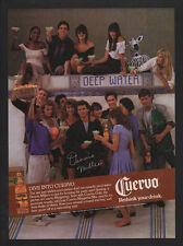1989 JOSE CUERVO - BILL O'REILLY Sidekick Comedian DENNIS MILLER - VINTAGE AD