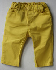 BABY DIOR YELLOW TROUSERS 9 MONTHS
