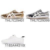 Asics Onitsuka Tiger Mexico 66 Silver Gold Men Women Shoes Sneakers Pick 1