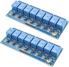 8 Channel Trigger 5v Relay Shield Module Board Arduino Raspberry Pi Arm Avr Cn