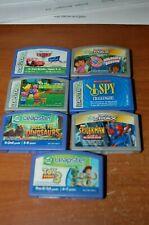 Leapfrog Leapster LeapPad Gaming Cartridges lot of 6 Dora Spiderman Cars Dino +