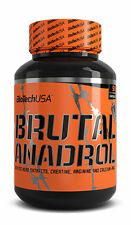 BioTech USA Brutal Anadrol 90 caps TST booster AAKG testosterone free P&P