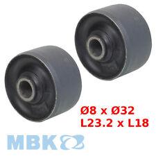2 x SILENTBLOC SILENT BLOC MOBYLETTE MBK 41 51 88 MOTEUR FLEXIBLOC 8x32x23x18