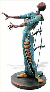 SALVADOR DALI Woman with Drawers Burning Giraffe Resin Sculpture