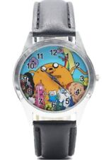 Adventure Time TV Series Characters Genuine Leather Band WRIST WATCH