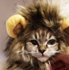 Cute Pet Costume Lion Mane Wig