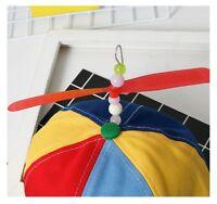 Propeller Cap Hat Helicopter Rainbow Tweedle Dee Dum Pride Fancy Dress Nerd DL5