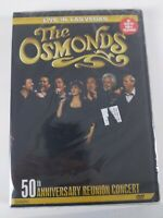 The Osmonds - Live in Las Vegas: 50th Anniversary Reunion Concert (DVD, 2008). A