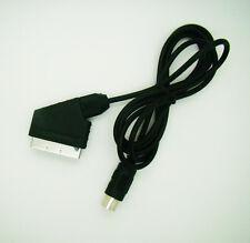 6 ft For Sega Mega Drive MD 1 and Master System 1 Scart TV AV Lead A/V Cable