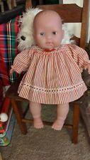 "New ListingBerenguer Chubby Baby Doll Cloth & Vinyl 15"" Blue Eyes"