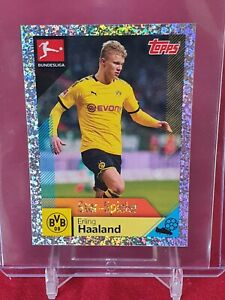 Erling Haaland Borussia Dortmund Bundesliga 2020/21 Topps Sticker