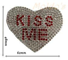 Crystal Applique Bridal Patch Motif Gorgeous Iron Rhinestone Wedding Silver 165