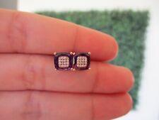 .10 CTW Diamond Earrings 14k Rose Gold JS10E sep