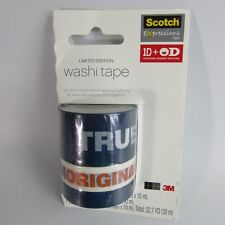 Scotch One Direction ID + OD Together Against Bullying Washi Tape 3 Roll Pack 3M