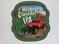Bier Aufkleber: Captain Lawrence Brewing Co Hop Commander Ipa ~ Elmsford,New