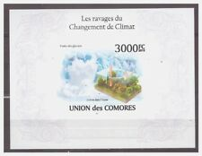 0146 Comores 2010 Climate change melting ice S/S Mnh imperf