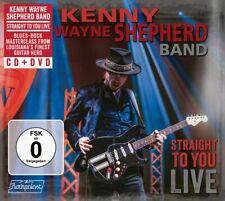 Kenny Wayne Shepherd Band Straight To You: Live CD/ DVD NEW (27TH NOV) warn