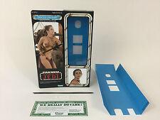"Custom Vintage Star Wars Rotj 12"" Insertos + Caja De Princesa Leia Esclava versión moderna"