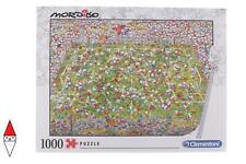 PUZZLE GRAFICA CLEMENTONI FUMETTI MORDILLO THE MATCH 1000 PZ