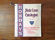 Extremely rare - early Hobdays Side Line Catalogue No 93 - 1932/33