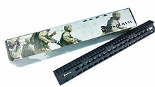 "15"" Free Float Handguard Slim Keymod Quad Rail,Steel Barrel Nut"