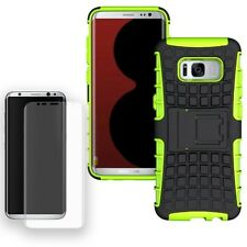 Hybrid Coque Protectrice 2teilig Vert Pour Samsung Galaxy S8 Plus G955F+