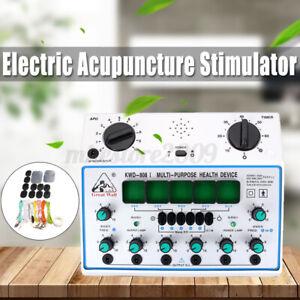 KWD808-I 6 Channels Electric Acupuncture Stimulator Patch Massager Massage Care