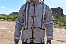 moroccan handmade berber style coat djellaba from wool for men and women
