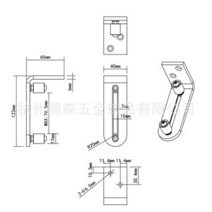 Home Floor guide Replacement Household Attachment Silver Door Hardware