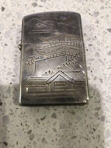 ZIPPO ,  Sterling Silver 950 Vintage Lighter 1960s
