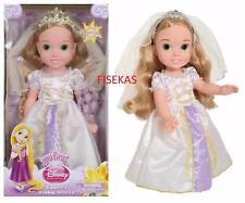 "My First Disney Tangled Ever After 15"" Rapunzel Wedding Dress Up Toddler Doll"
