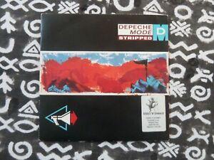 "Depeche Mode Stripped 7"" 45 Tours 1986 UK"