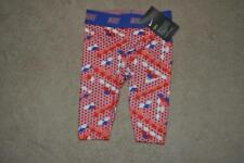 Nike Toddler Girls  Dri-Fit Printed Leggings Bright Melon 36B837-A4E Size 6 NWT